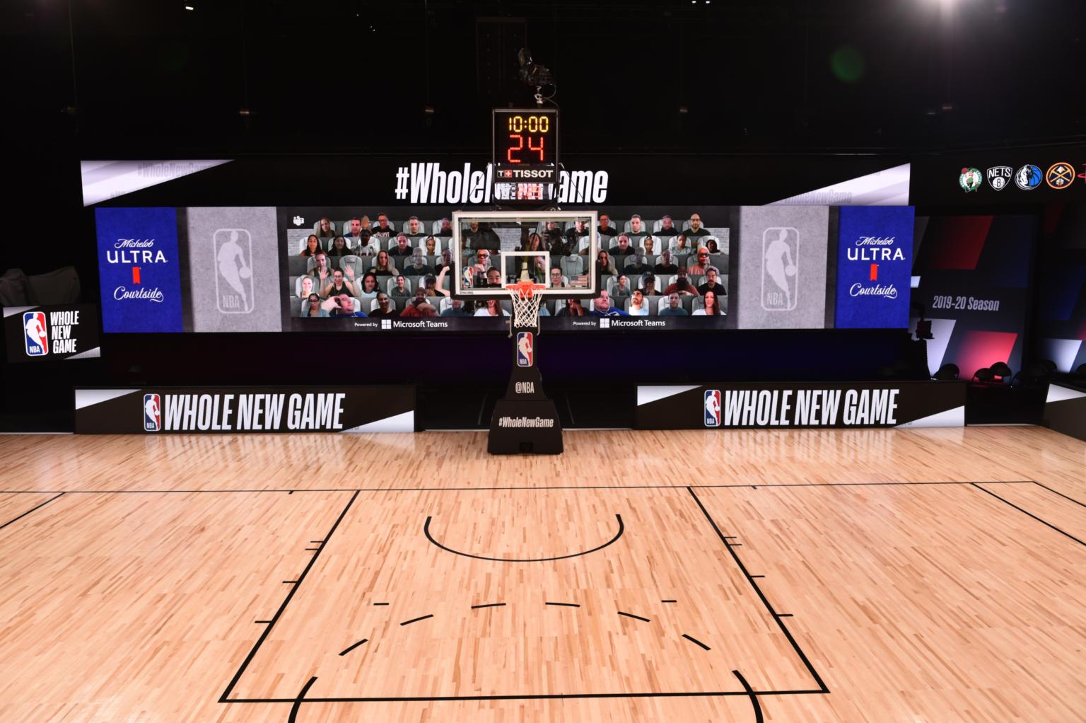 Microsoft Teams для фанатов NBA